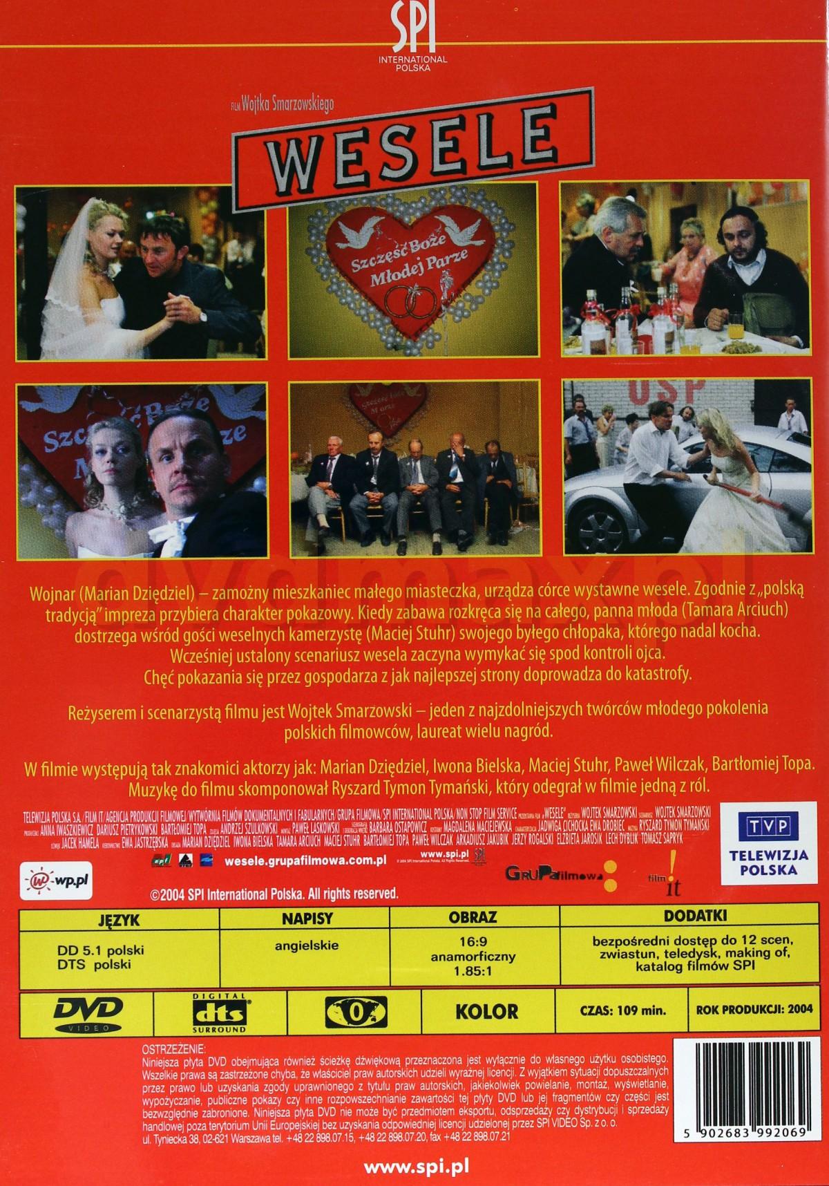 Sklep Punkt44pl Wesele 2004 Dvd