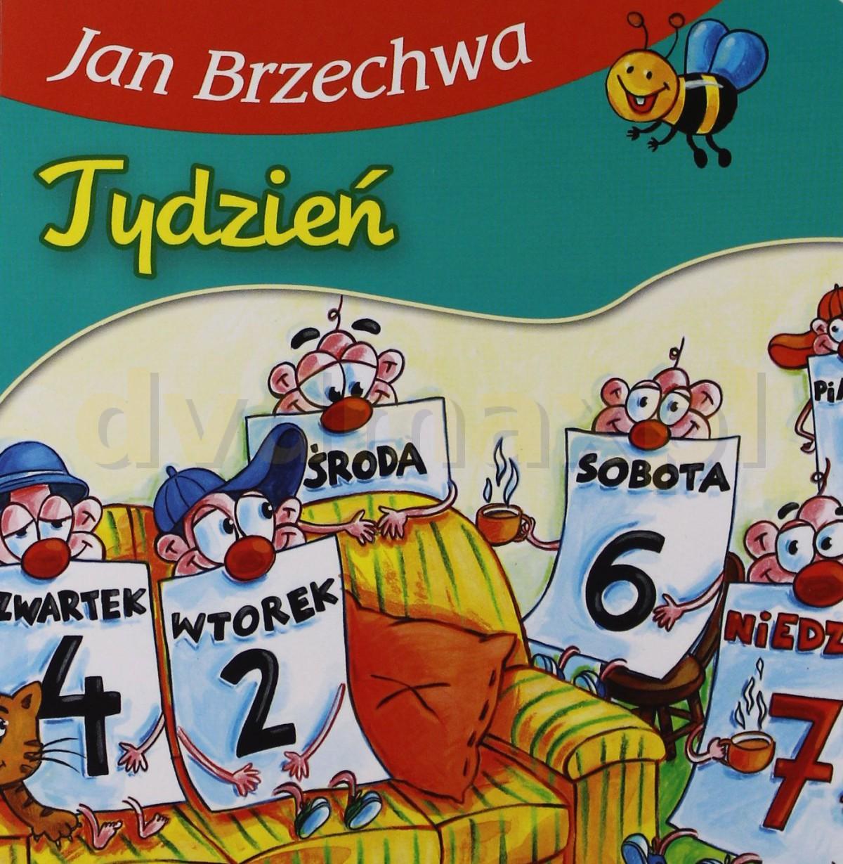 Sklep Punkt44pl Tydzień Jan Brzechwa Książka