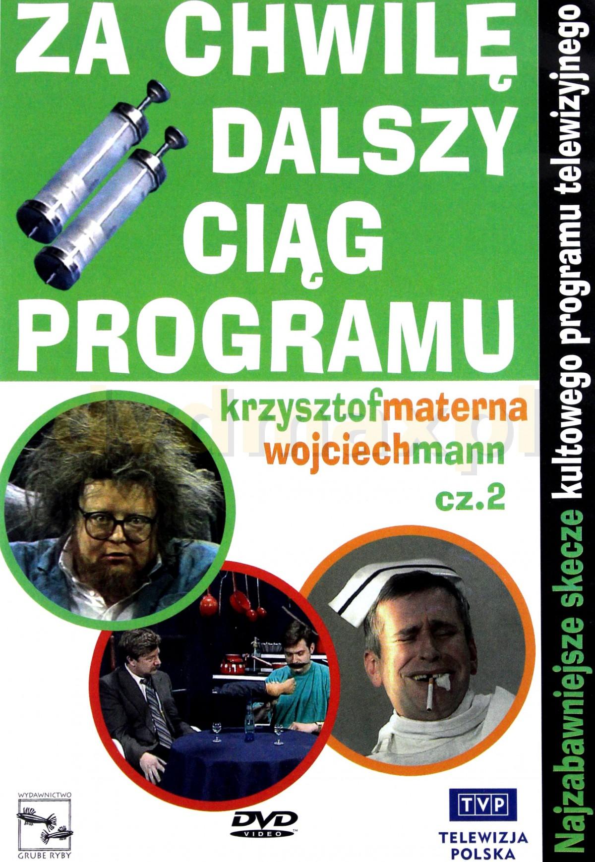Sklep Punkt44pl Za Chwilę Dalszy Ciąg Programu 2 Dvd