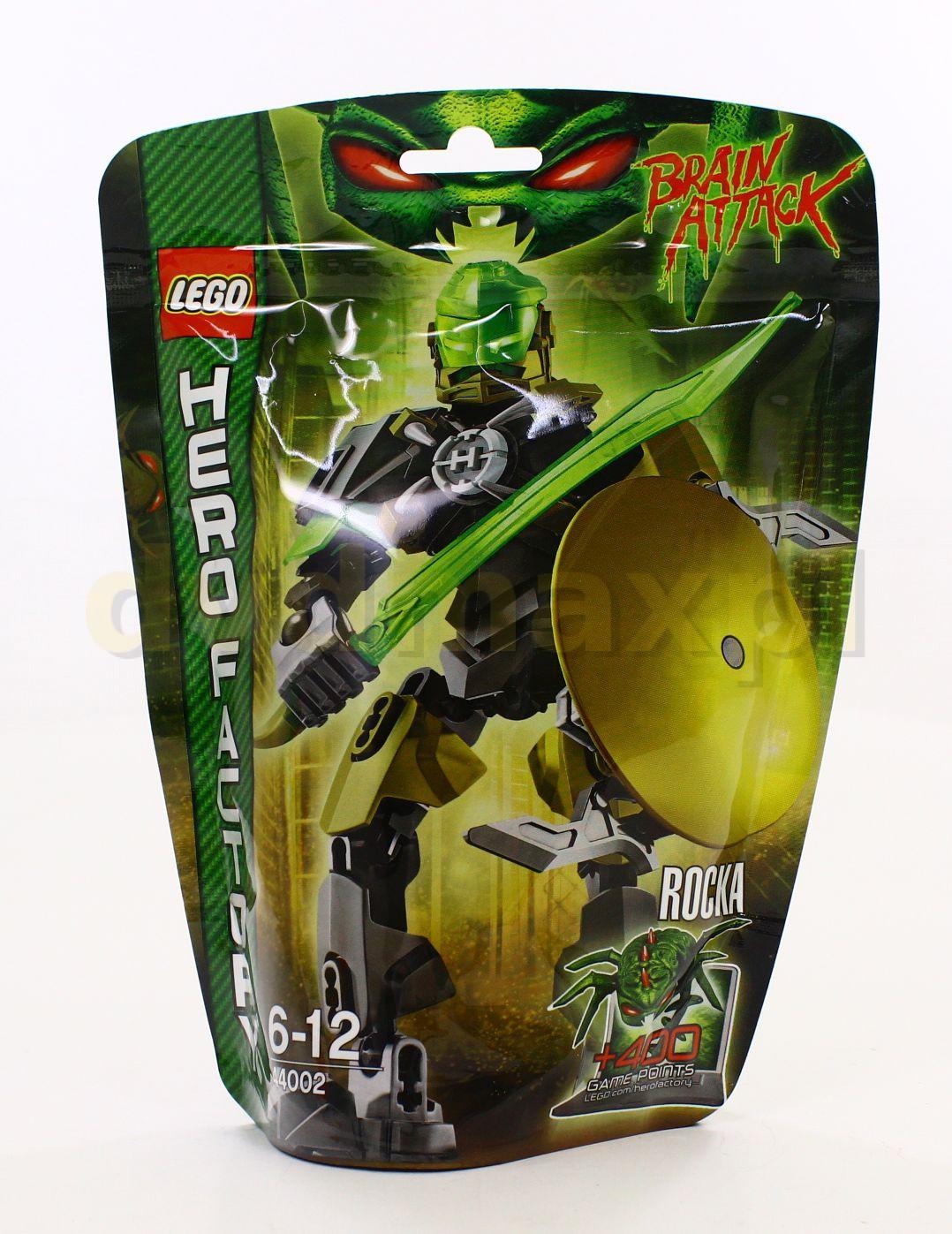 Sklep Punkt44pl Lego Hero Factory Rocka 44002 Klocki