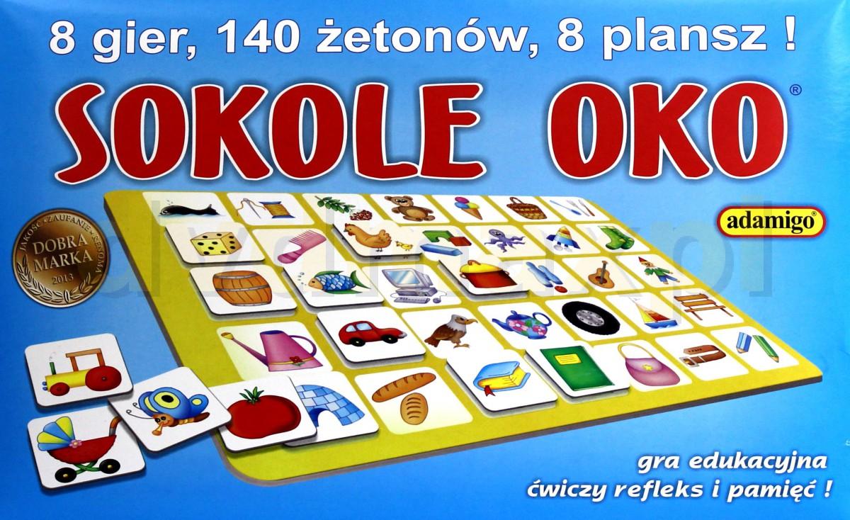 2302b026d5028f Sklep Punkt44.pl | ADAMIGO Gra Sokole Oko 5475 [GRA]