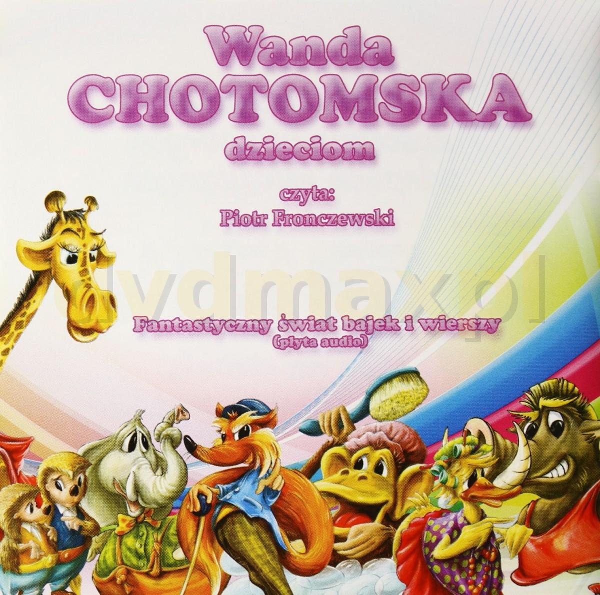 Sklep Punkt44pl Wanda Chotomska Dzieciom Audiobook Cd