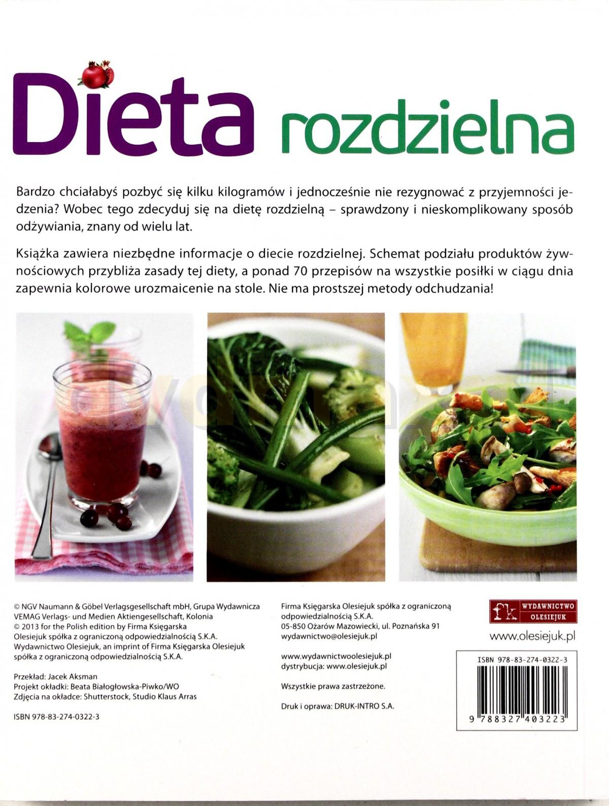Sklep Punkt44 Pl Dieta Rozdzielna Ksiazka