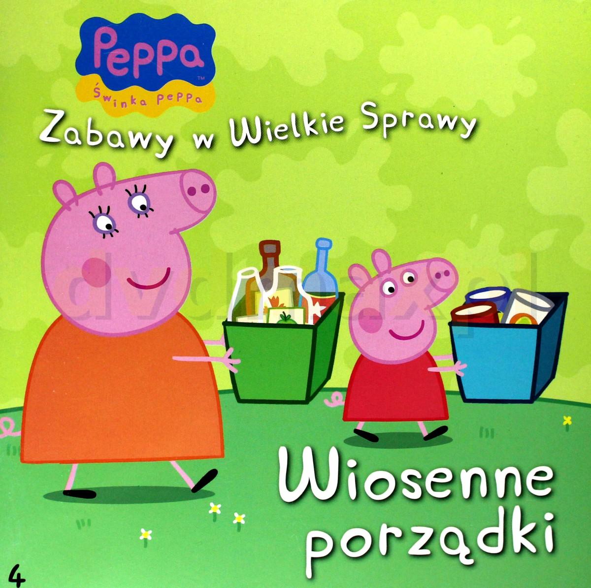 Sklep Punkt44pl Wiosenne Porządki świnka Peppea Zabawy W