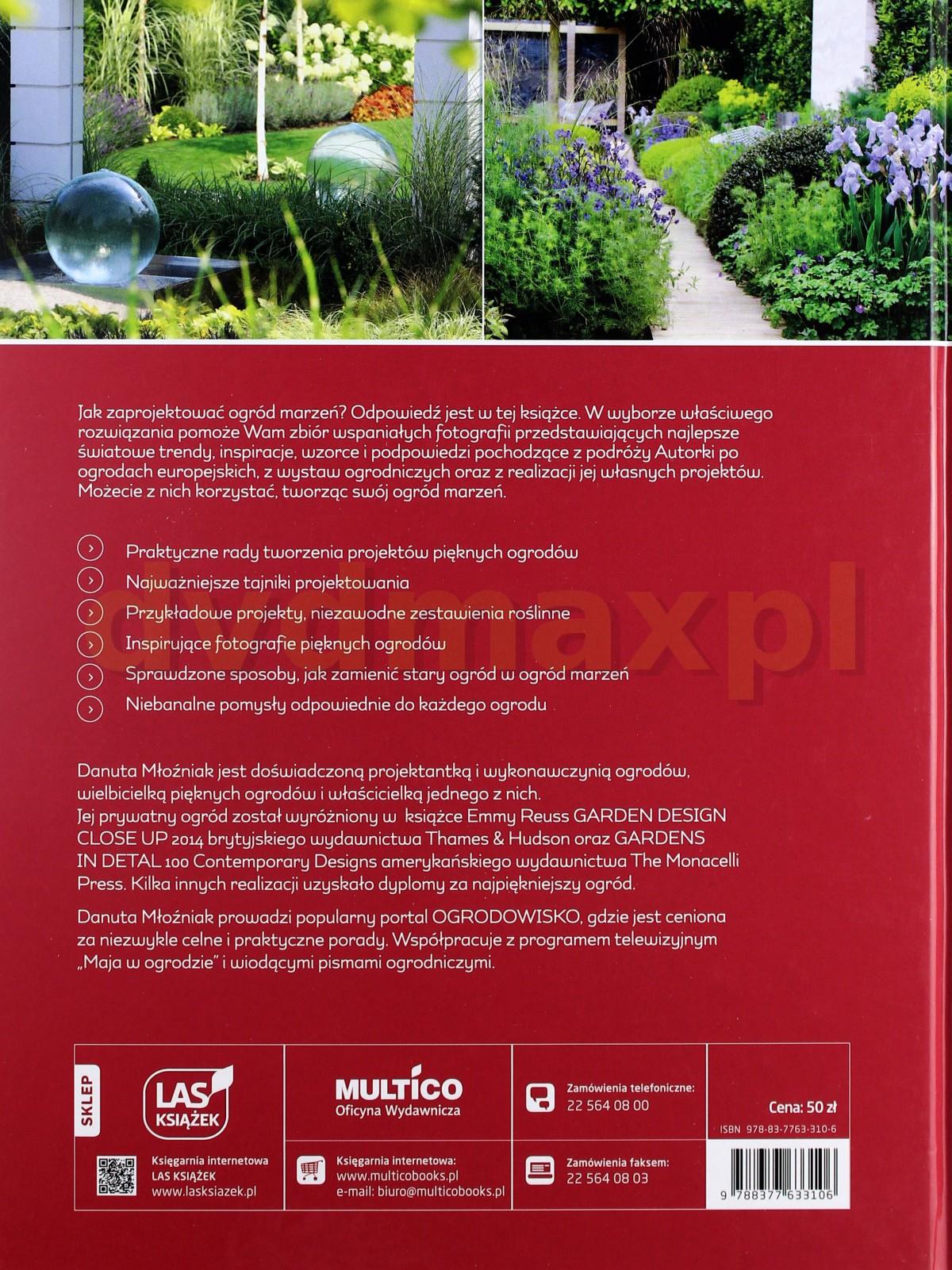 Sklep Punkt44pl Jak Zaprojektować Ogród Marzeń Danuta Młoźniak