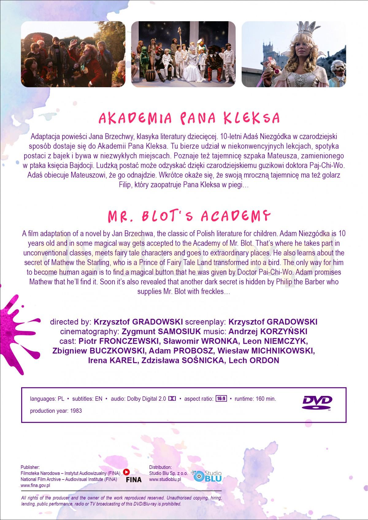 Sklep Punkt44 pl | Akademia Pana Kleksa (Digitally Restored