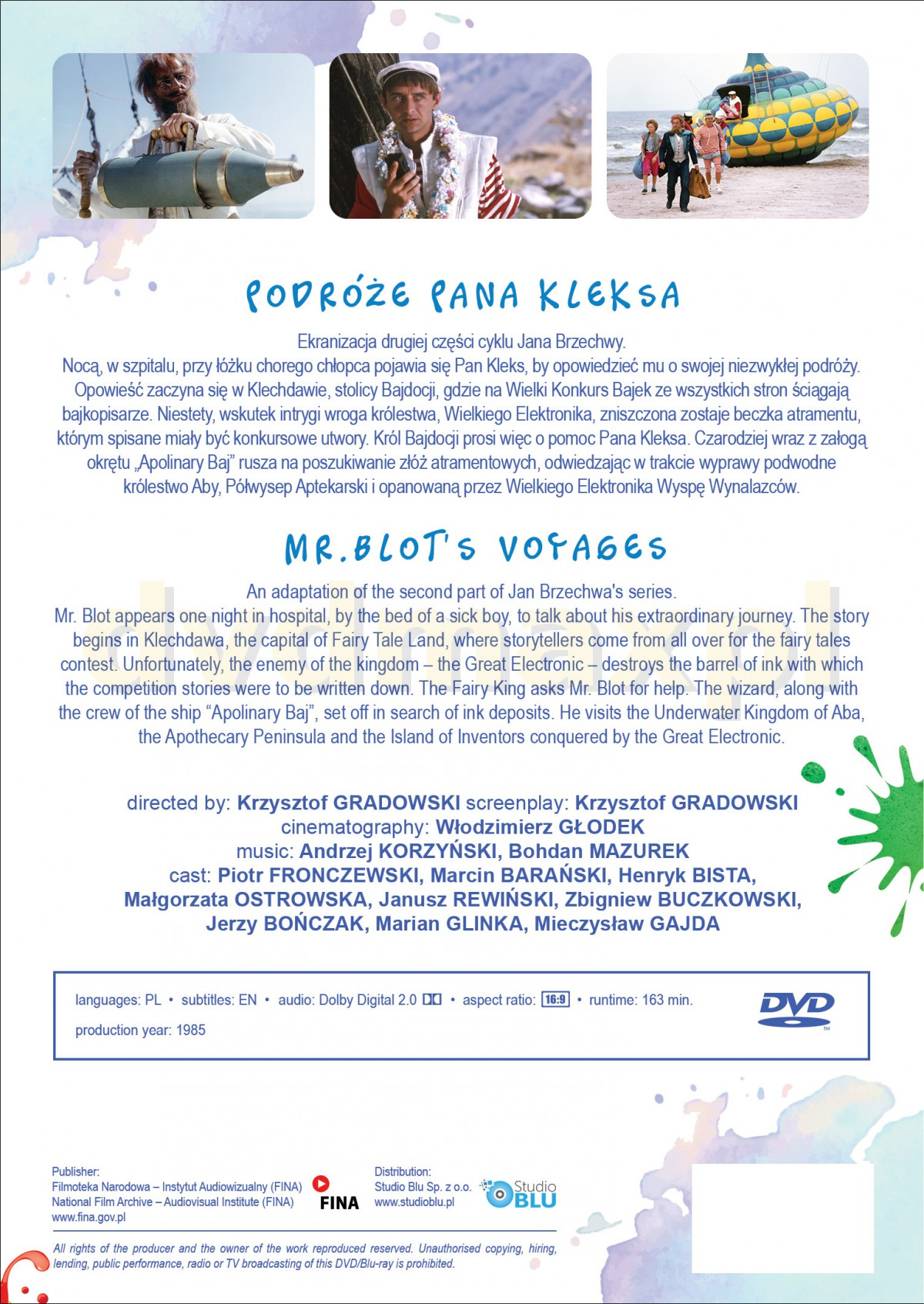 Sklep Punkt44 pl | Podróże Pana Kleksa (Digitally Restored