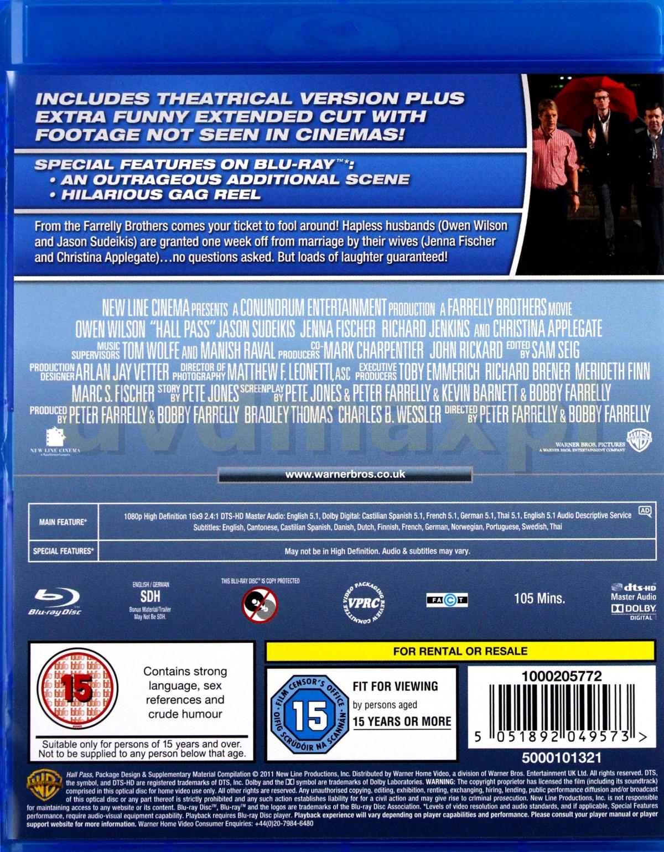 Hall Pass Blu Ray